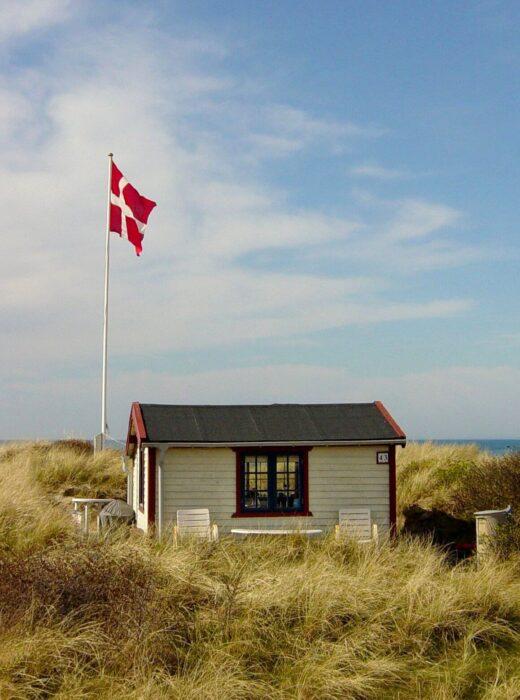 Ein kleines, feines Ferienhäusen in Mitten von Dünen im Norden von Dänemark