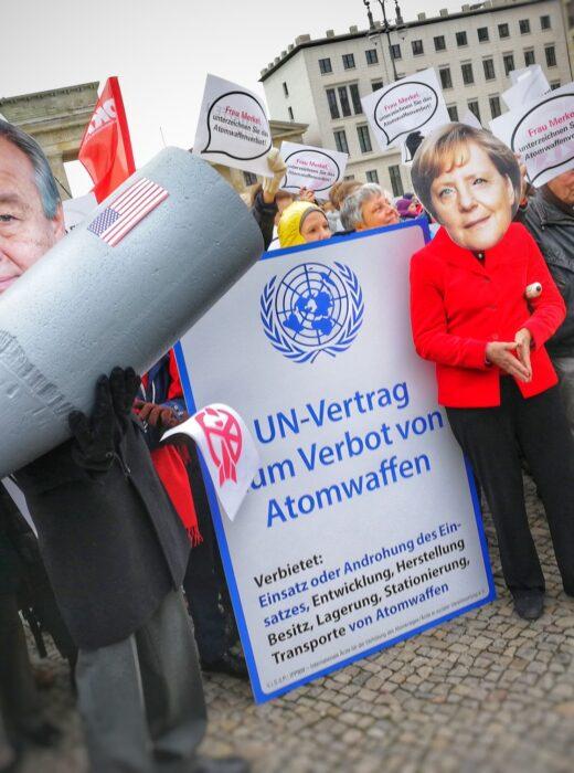 Protest gegen Atomwaffen